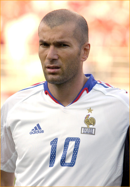 Zidane got his start in